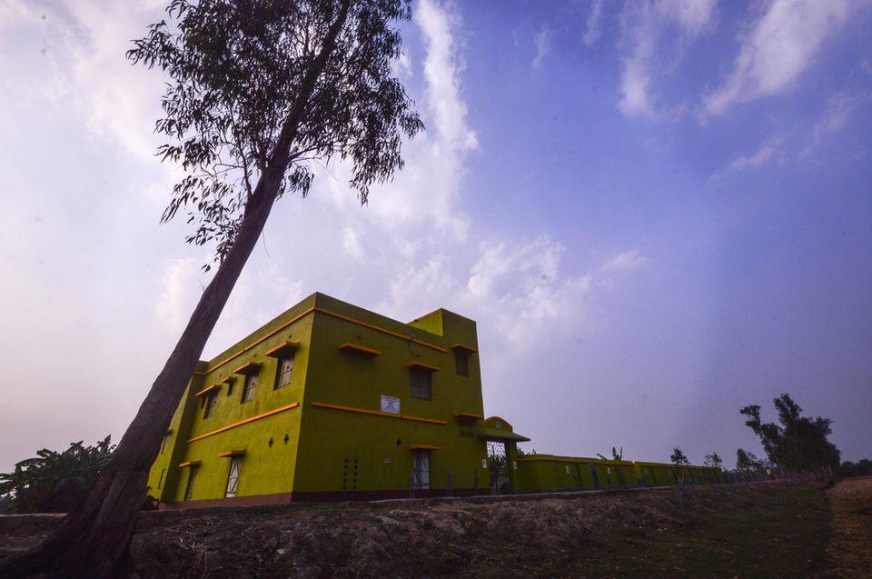 Indien: Katastrophenschutzraum in Lahiripur