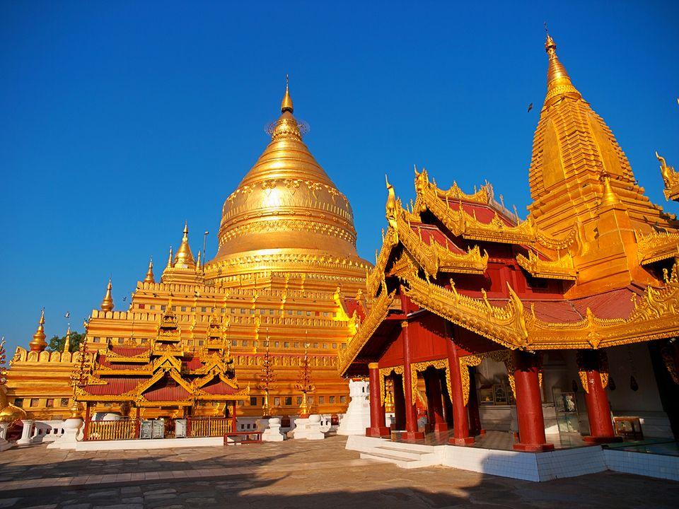 Pagode in Myanmar