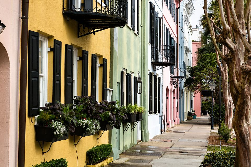Altstadt von Charleston, South Carolina