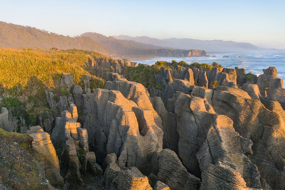 Pancake Rocks in Neuseeland