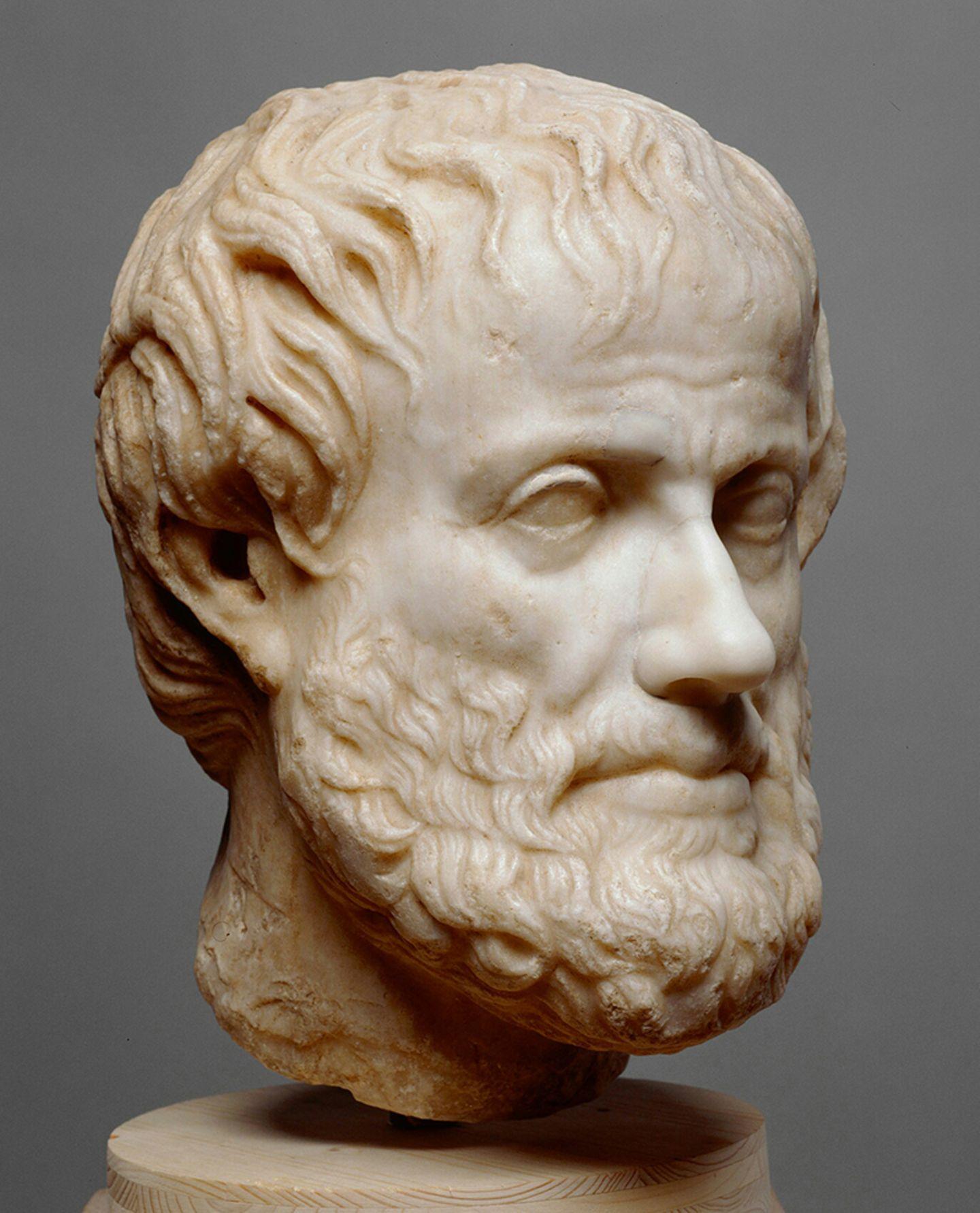 """Gesichter der Antike: Begriffe wie """"Hypothese"""" und """"Beweis"""" gehen auf Aristoteles (384–322 v. Chr.) zurück"""
