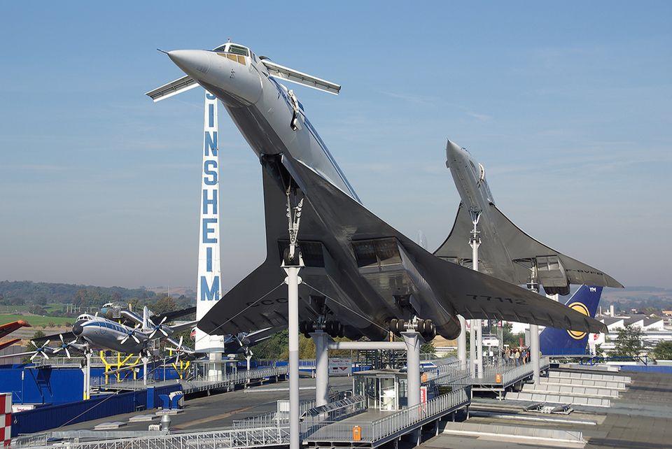 Concorde und Tupolev TU-144