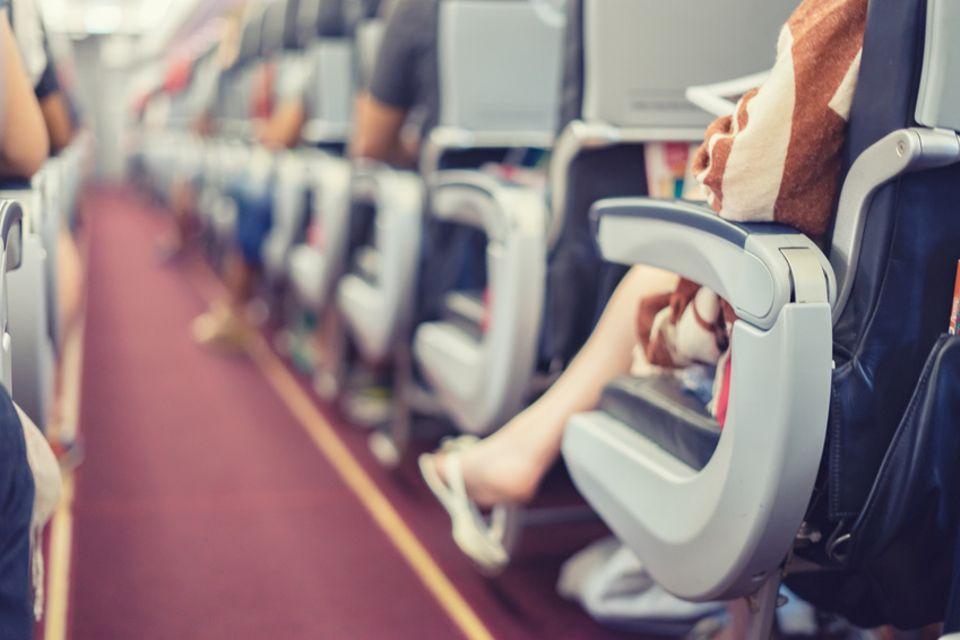 Armlehne, Flugzeug