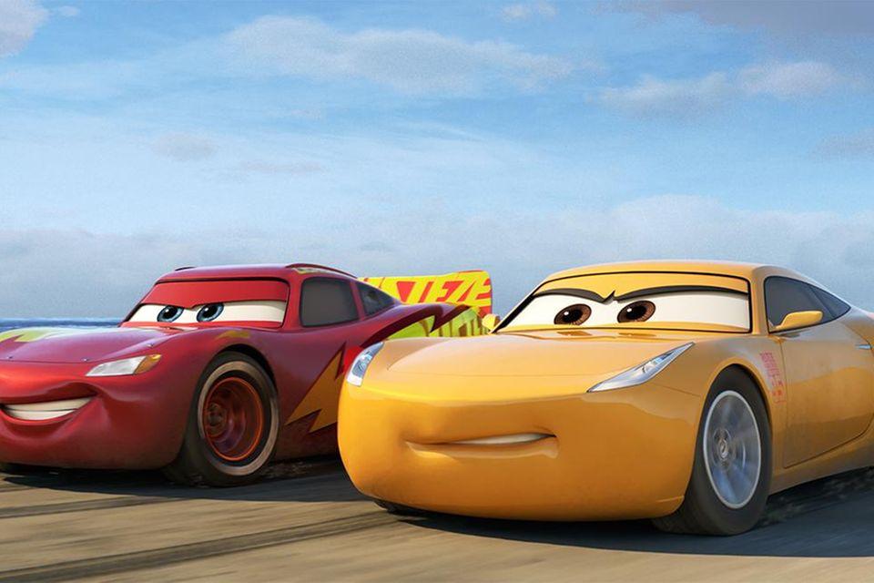 Lightning McQueen und Cruise Ramirez