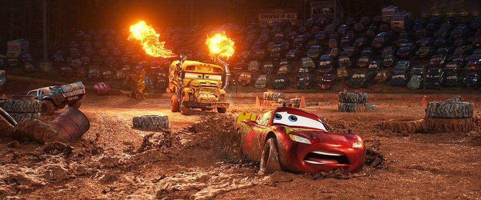 Das Crazy-8-Rennen in CARS 3