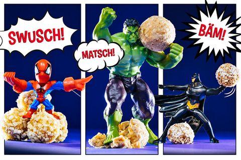 Energiekugeln für Superhelden