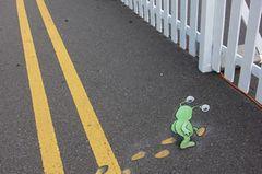 Sluggo auf der Straße