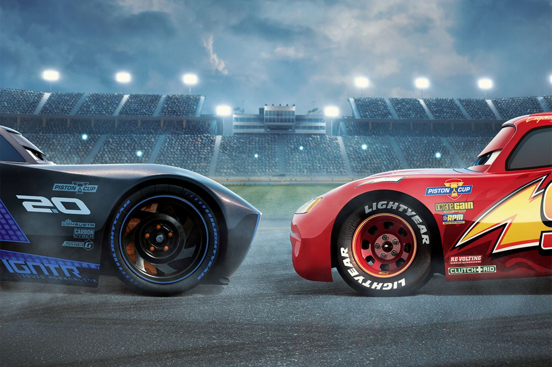 CARS 3: Lightning McQueen und Jackson Storm