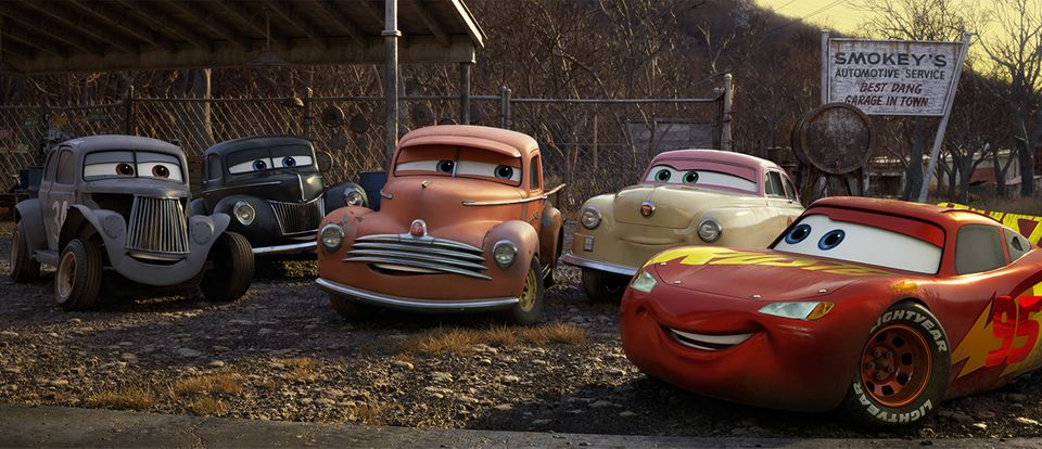 Die Rennfahrer-Legenden in CARS 3