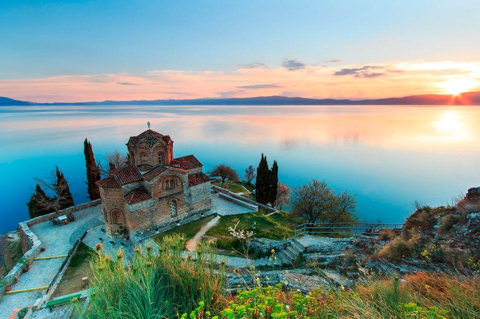 Mazedonien, Ohrid See