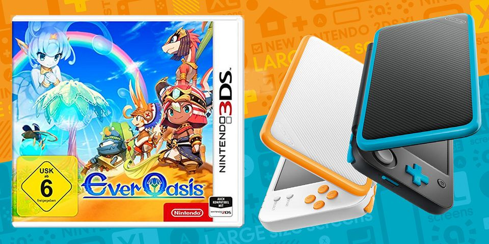 Ever Oasis & Nintendo 2DS XL