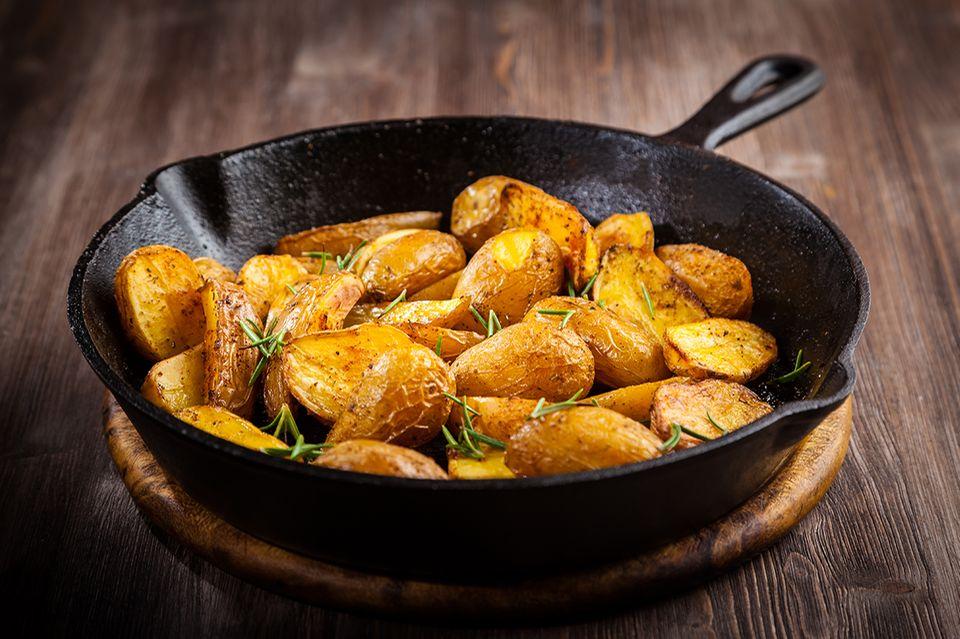Pfanne Kartoffeln