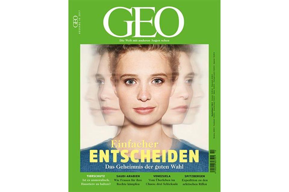Cover GEO Nr. 10/2016