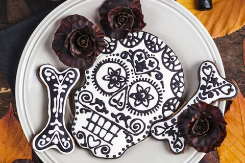Totenkopf Kekse