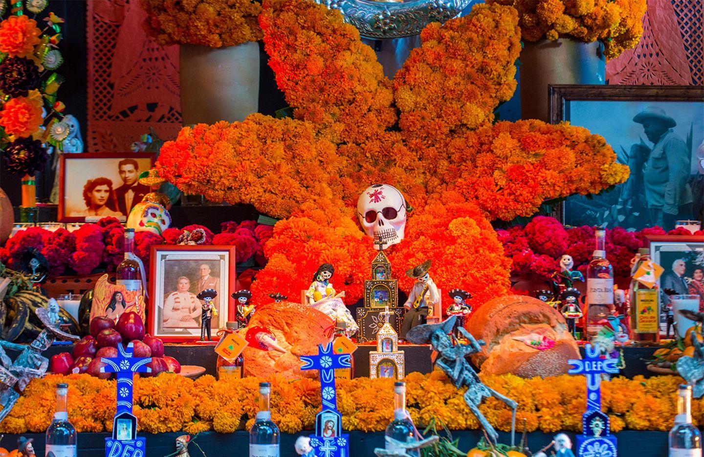 Altar am Tag der Toten