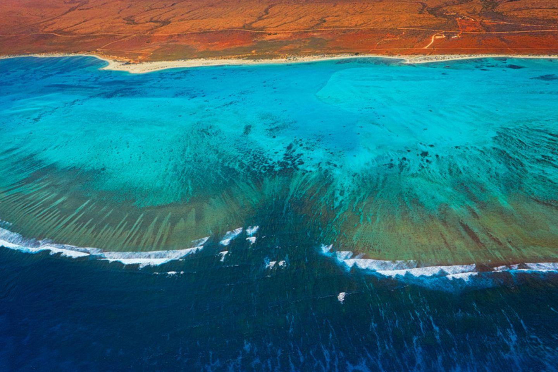 Blick auf das Ningaloo Reef in Australien
