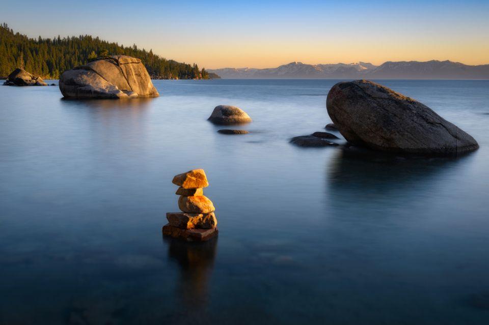 Lake Tahoe in den USA