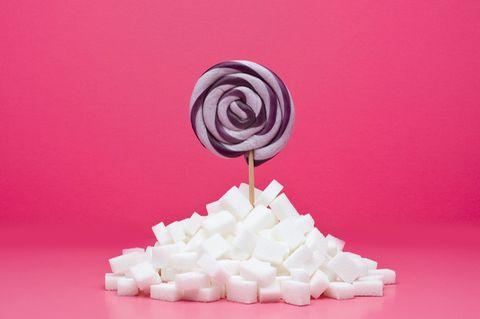 Lutscher mit Zucker