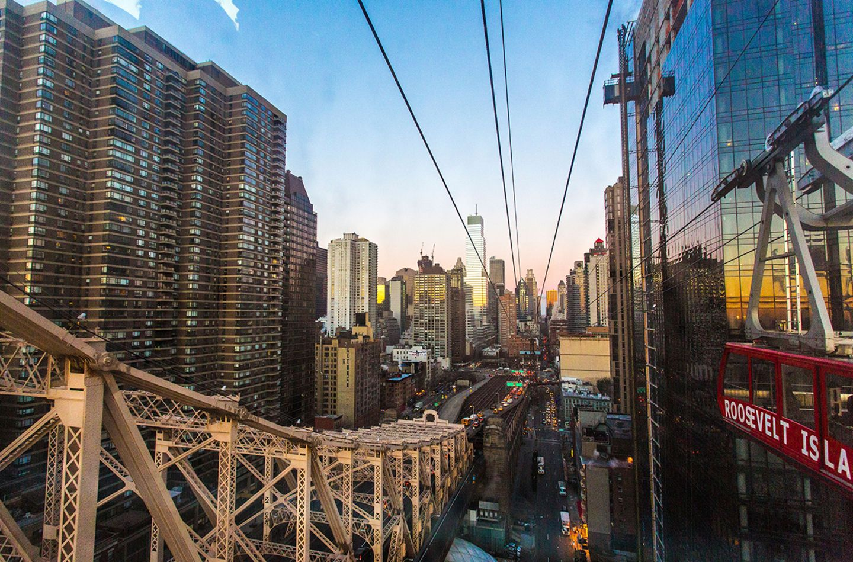 Roosevelt Island Tramway in New York