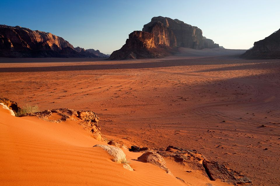 Wadi Rum Nationalpark in Jordanien