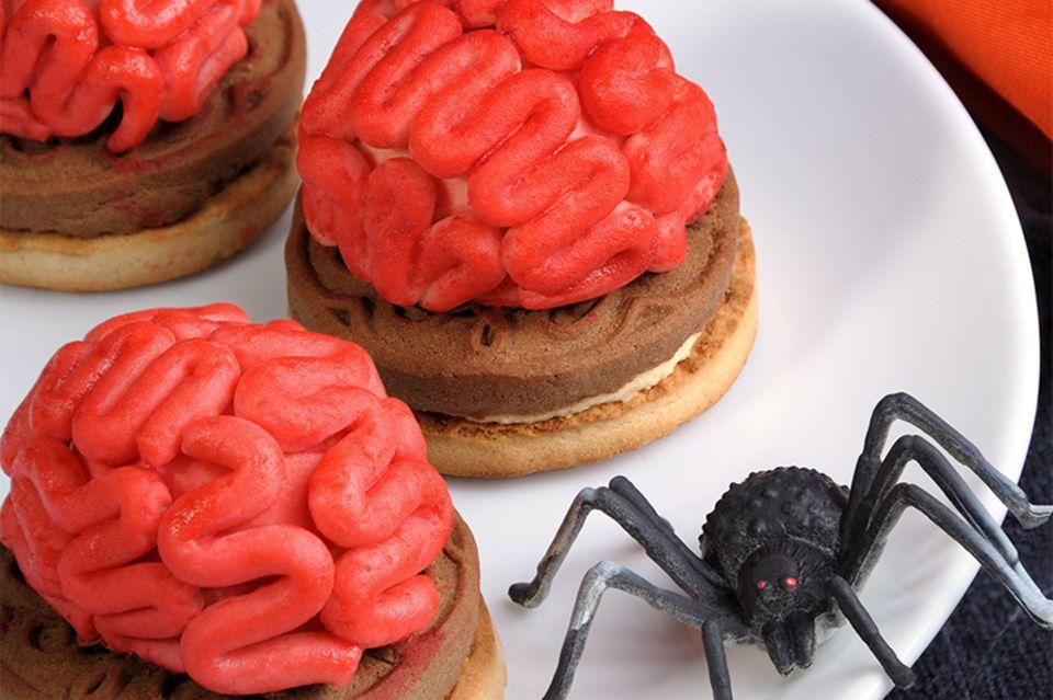 Gehirn Kekse