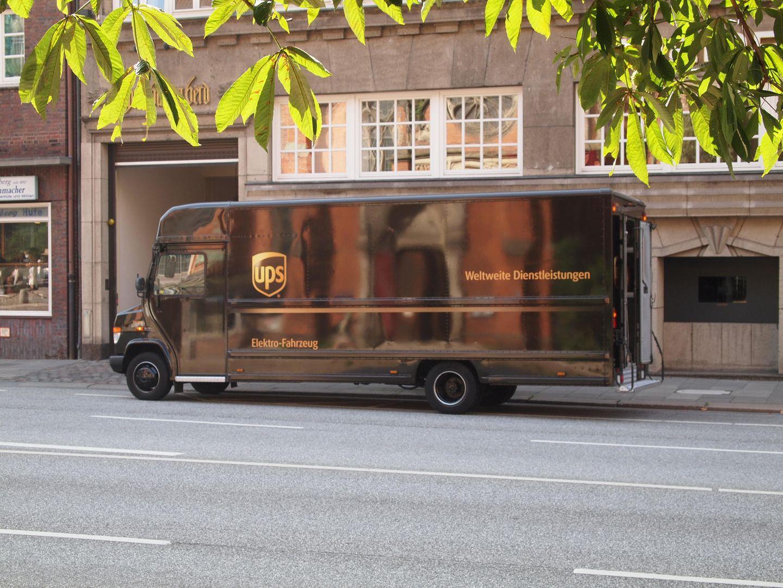 UPS Fahrzeug