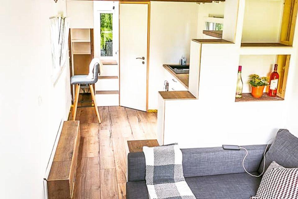 Innenansicht Tiny House im Fichtelgebirge