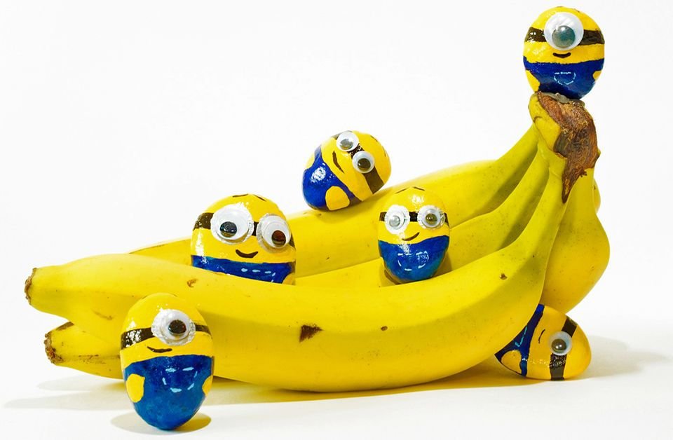 Minions auf Banane