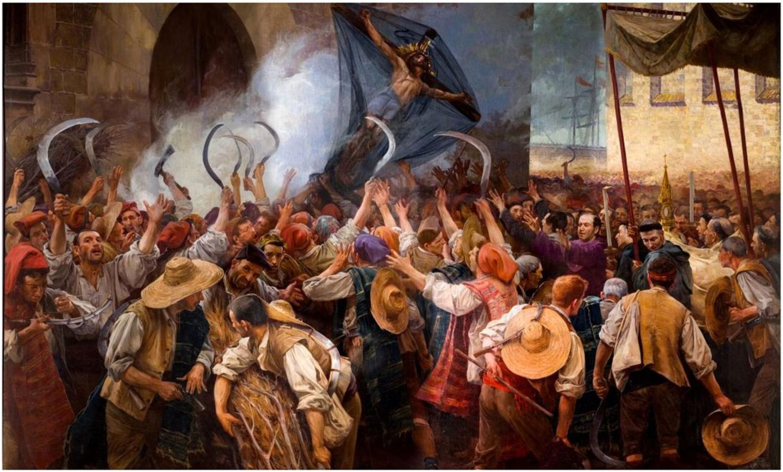 Los segadores, Antoni Estruch