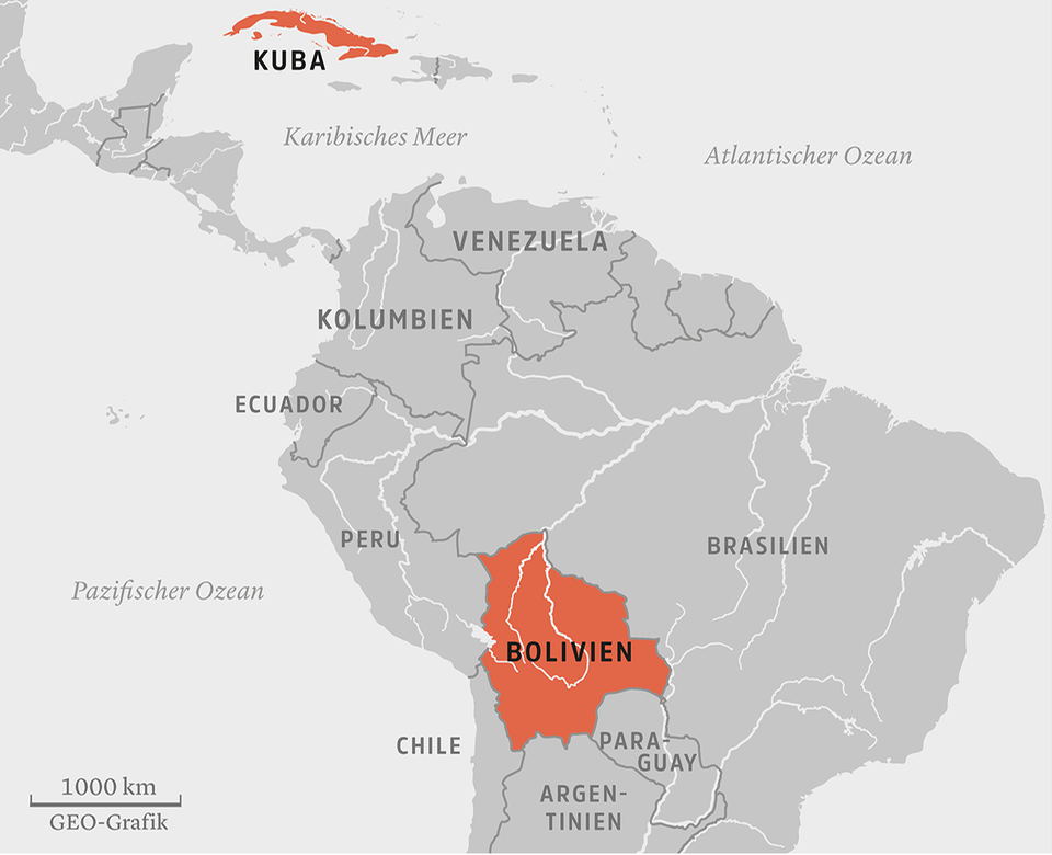 Bolivien - Kuba