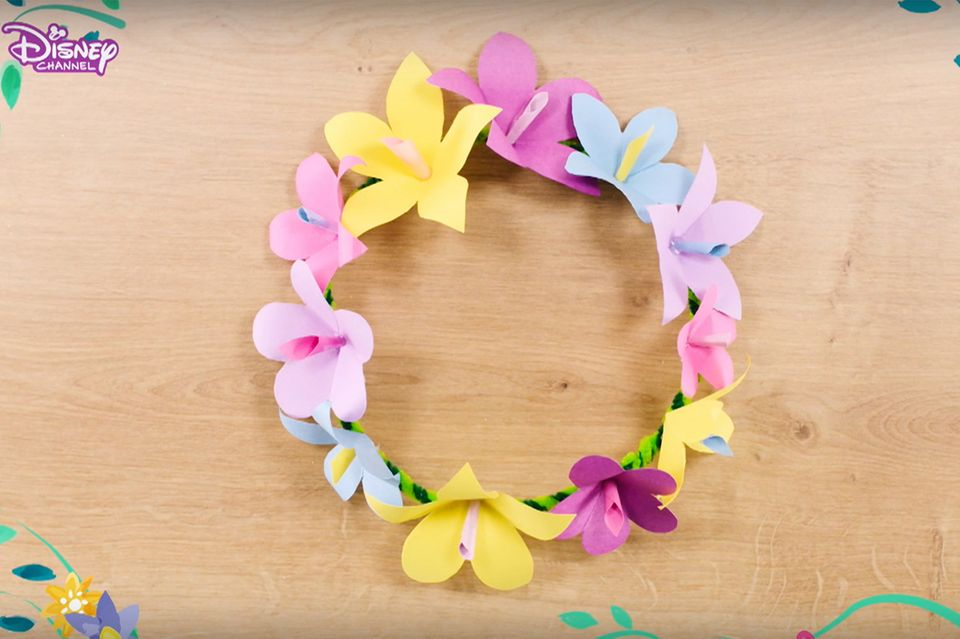 Blumenkranz wie bei Rapunzel