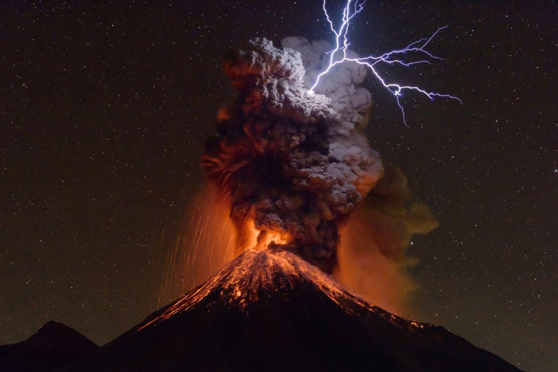 Colima Volcano, México