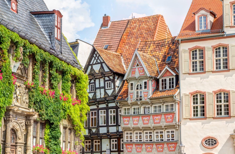 Fachwerk, Quedlinburg