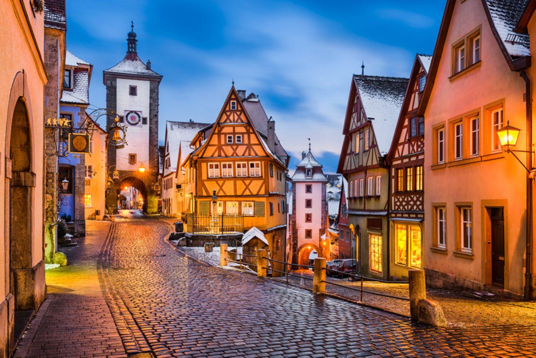 Rothenburg ob der Tauber, Fachwerk