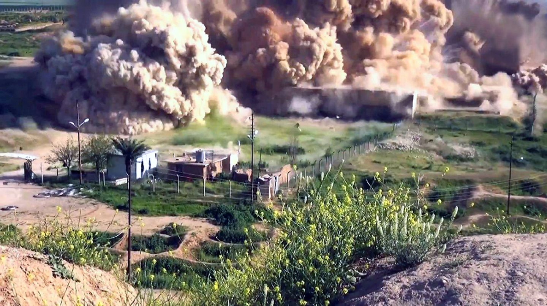 Nimrud, Zerstörung durch den IS
