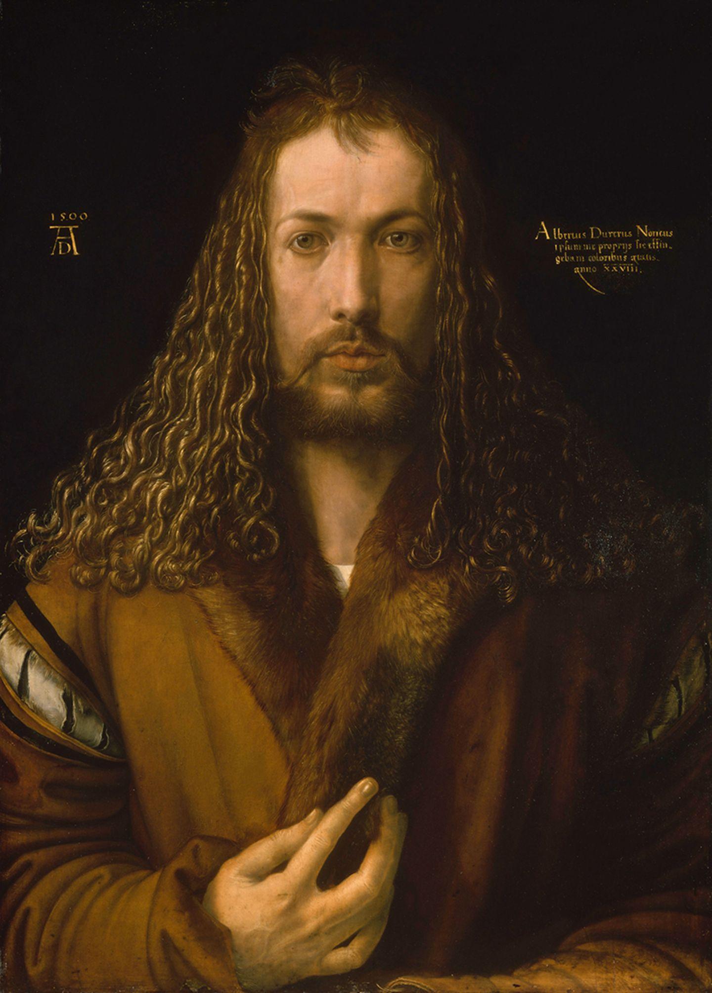 Albrecht Dürer, Selbstbildnis im Pelzrock