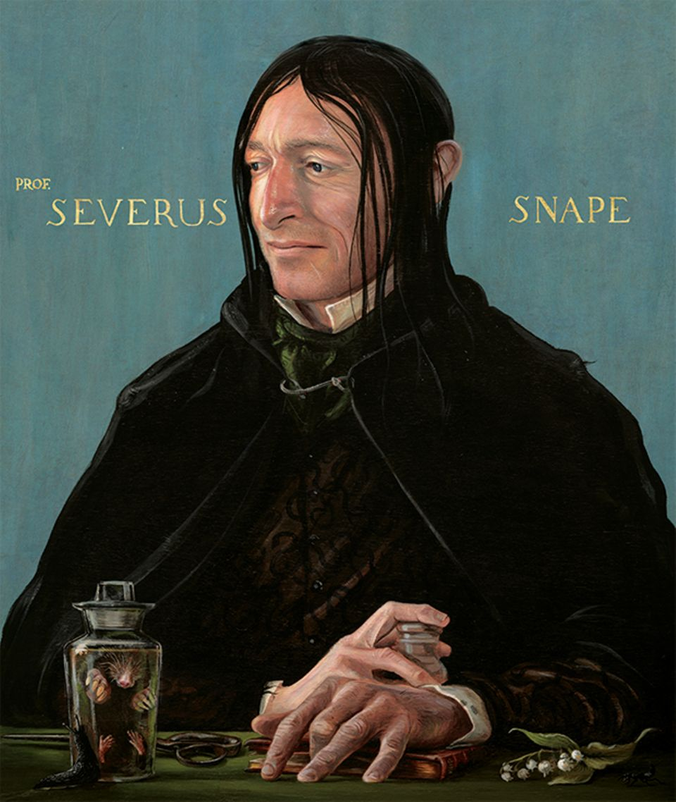 Harry Potter Band 3 Schmuckausgabe, Severus Snape