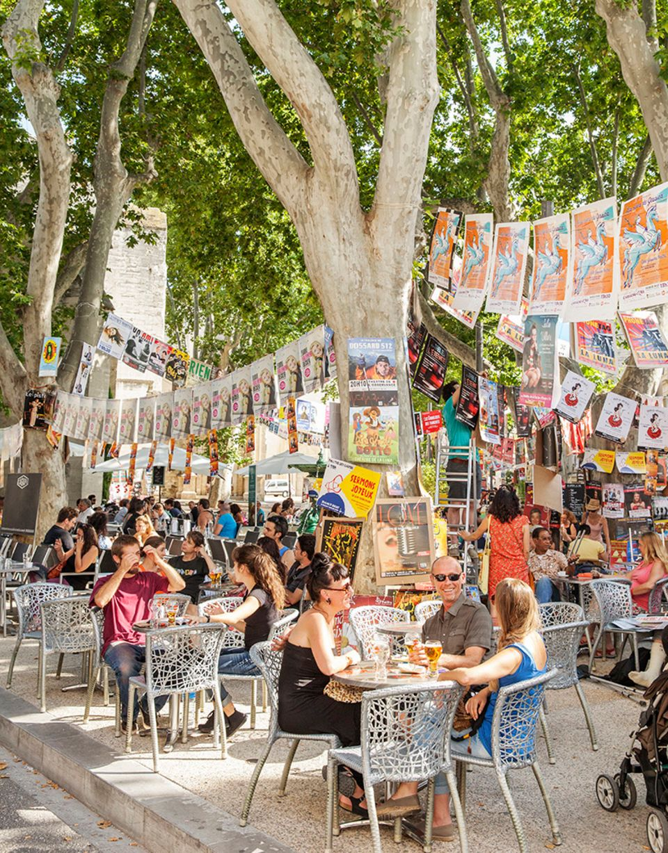 Frankreich, Avignon, Theaterfestival