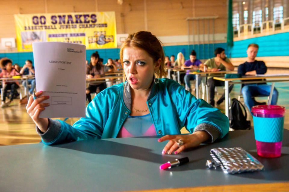 "Jella Haase als Chantal in ""fack ju göthe"""