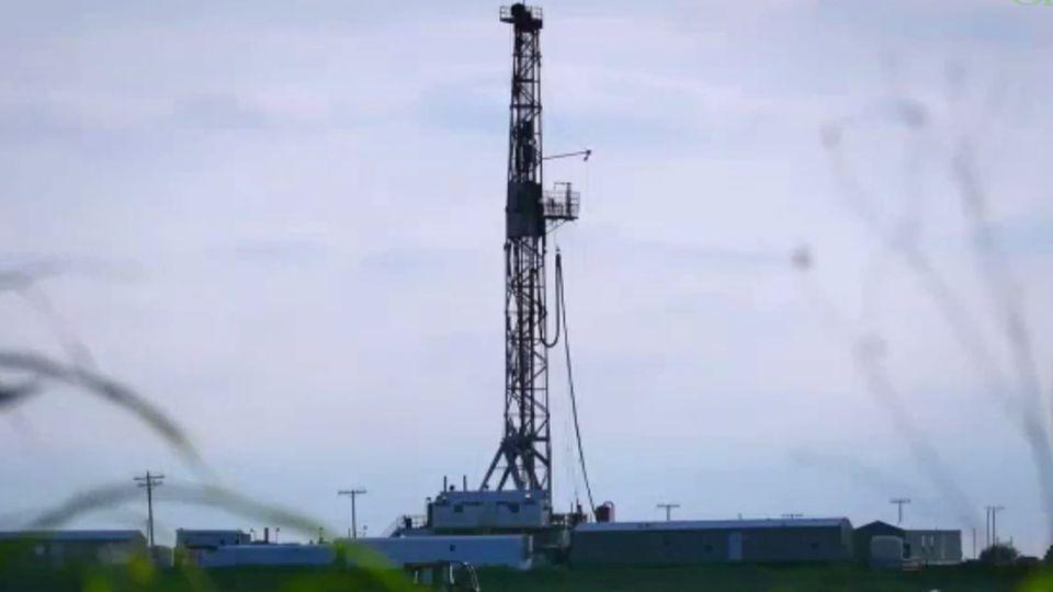 Fracking Bohrturm
