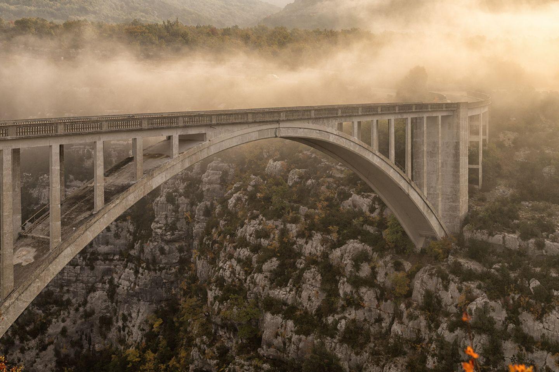 Brücke über die Verdonschlucht