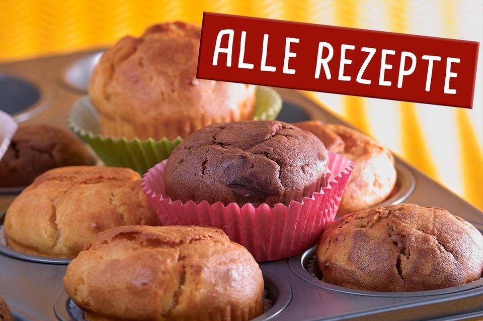 Muffins - alle Rezepte