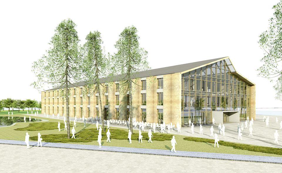 Die neue Alnatura Firmenzentrale in Darmstadt