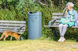 Fuchs und Mensch
