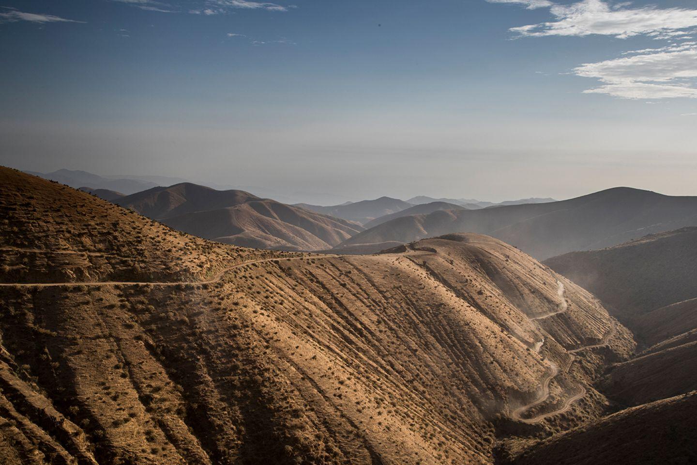 Karge Landschaft in Peru