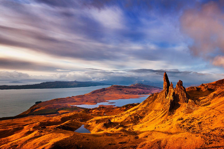 Blick auf die Isle of Skye