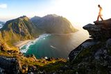 Moskenesøy im Archipel der Lofoten