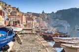Procida bei Neapel in Italien
