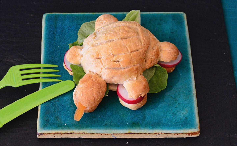 Brötchen Schildkröte