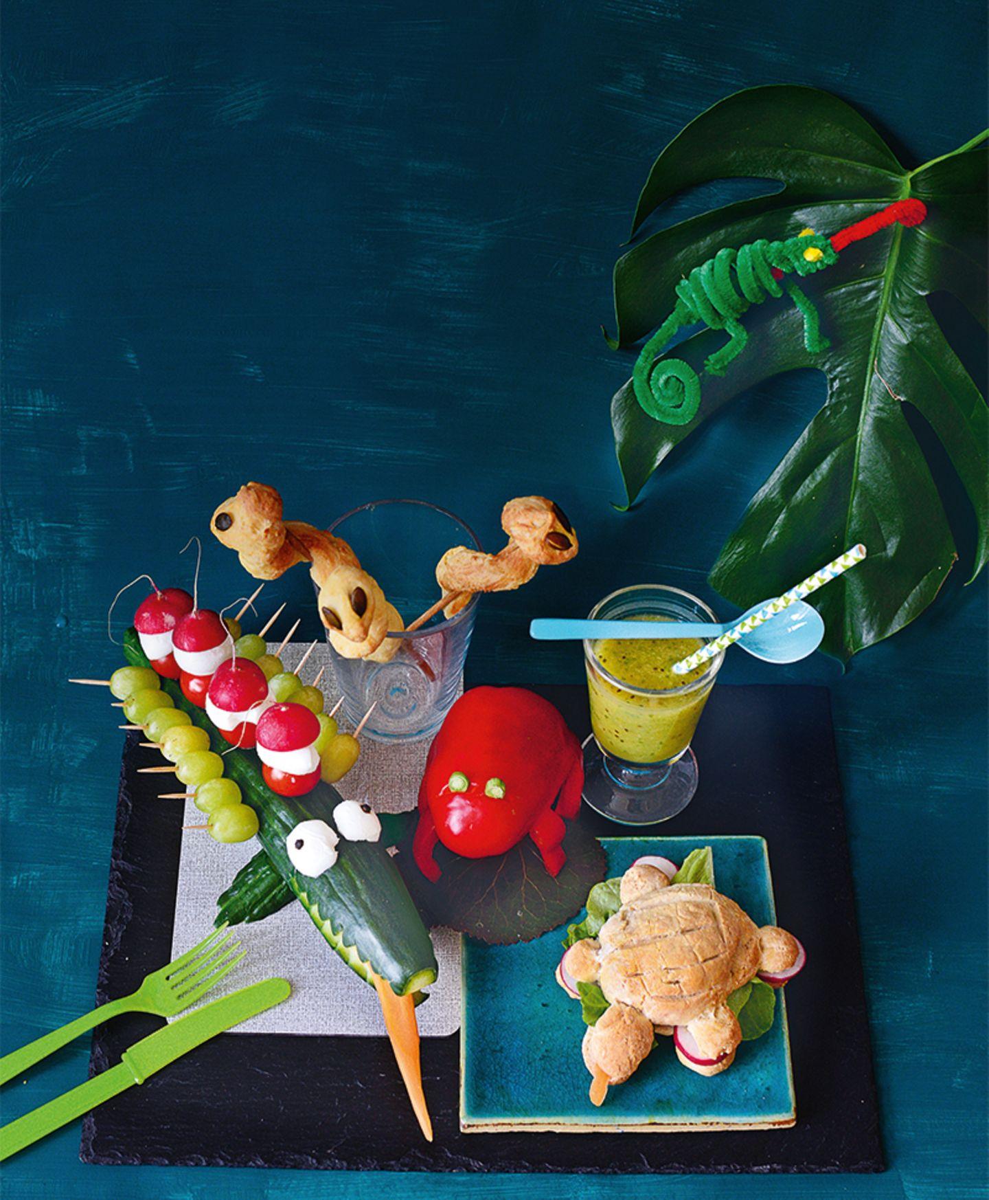 Fun Food: Reptilien